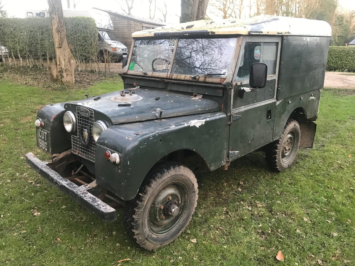 1954 Land Rover Series 1 One 86 SOLD (picture 2 of 12)