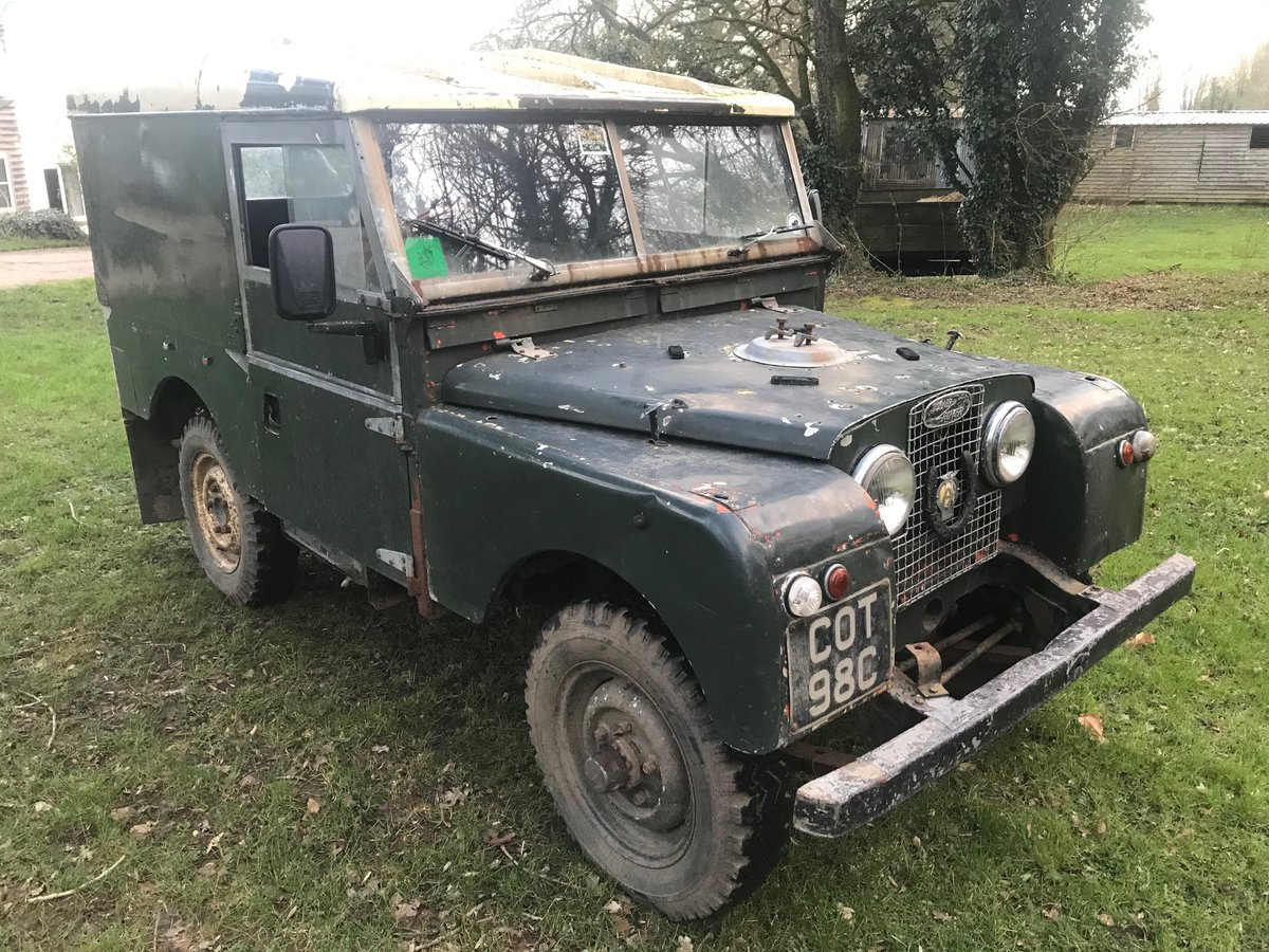 1954 Land Rover Series 1 One 86 SOLD (picture 3 of 12)