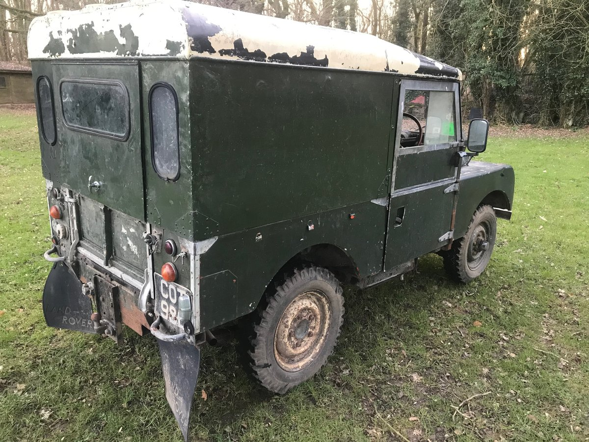 1954 Land Rover Series 1 One 86 SOLD (picture 4 of 12)