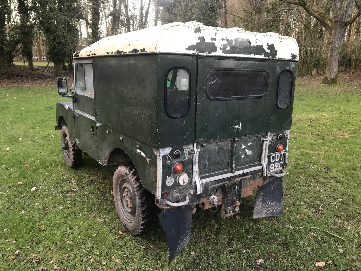 1954 Land Rover Series 1 One 86 SOLD (picture 6 of 12)