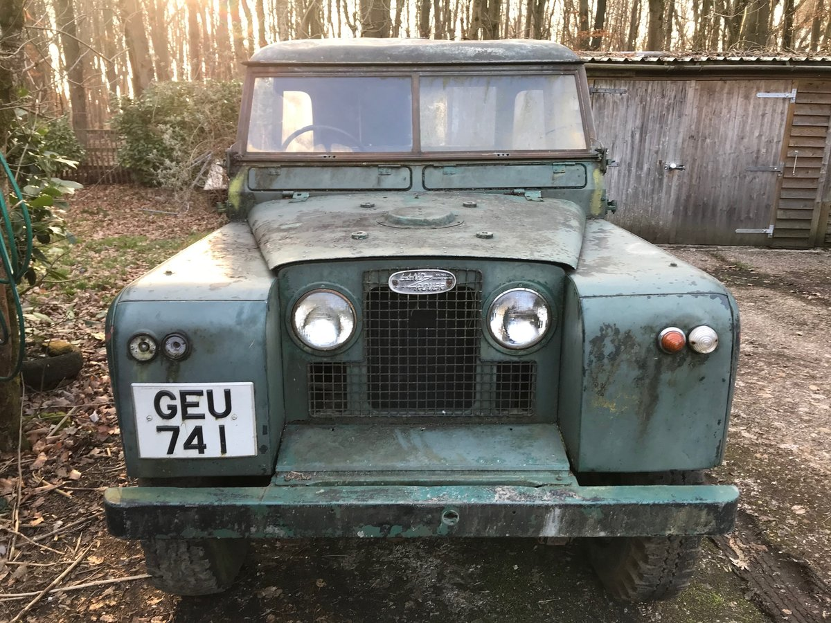 Land Rover Series 2 II 1958 88 SOLD (picture 1 of 9)