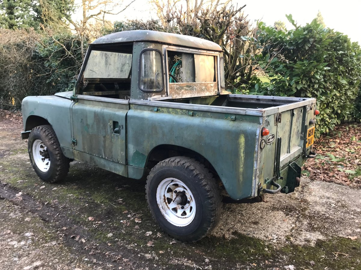 Land Rover Series 2 II 1958 88 SOLD (picture 3 of 9)