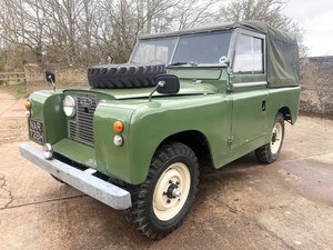 Picture of 1959 land rover series II  - rare 2wd ex military example For Sale