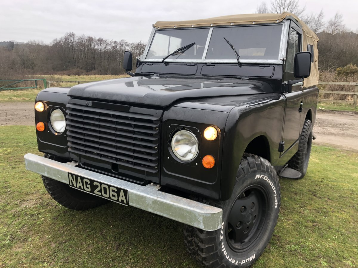 1962 Land Rover Series 2a-V8-5 speed-soft top-Galvanised chassis For Sale (picture 1 of 10)