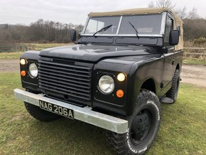 Picture of 1962 Land Rover Series 2a-V8-5 speed-soft top-Galvanised chassis For Sale