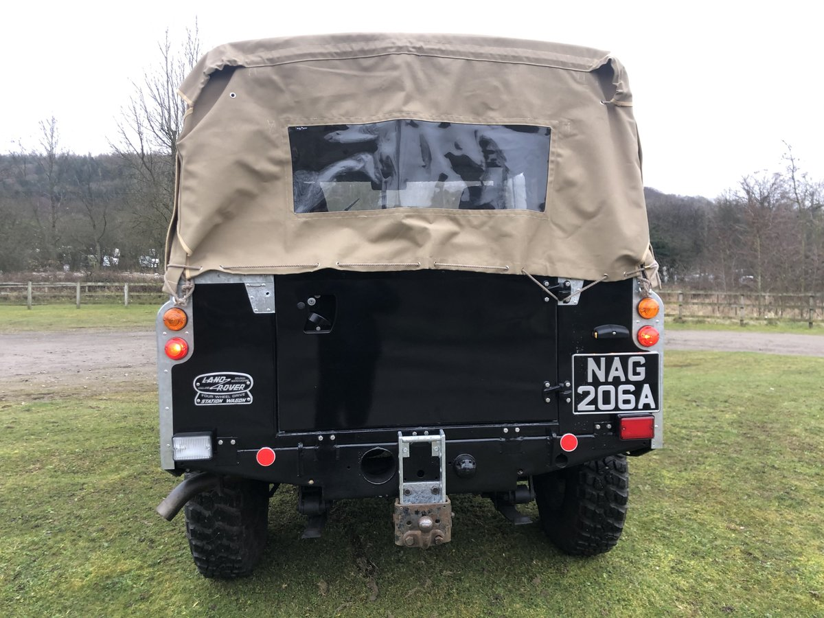 1962 Land Rover Series 2a-V8-5 speed-soft top-Galvanised chassis For Sale (picture 3 of 10)