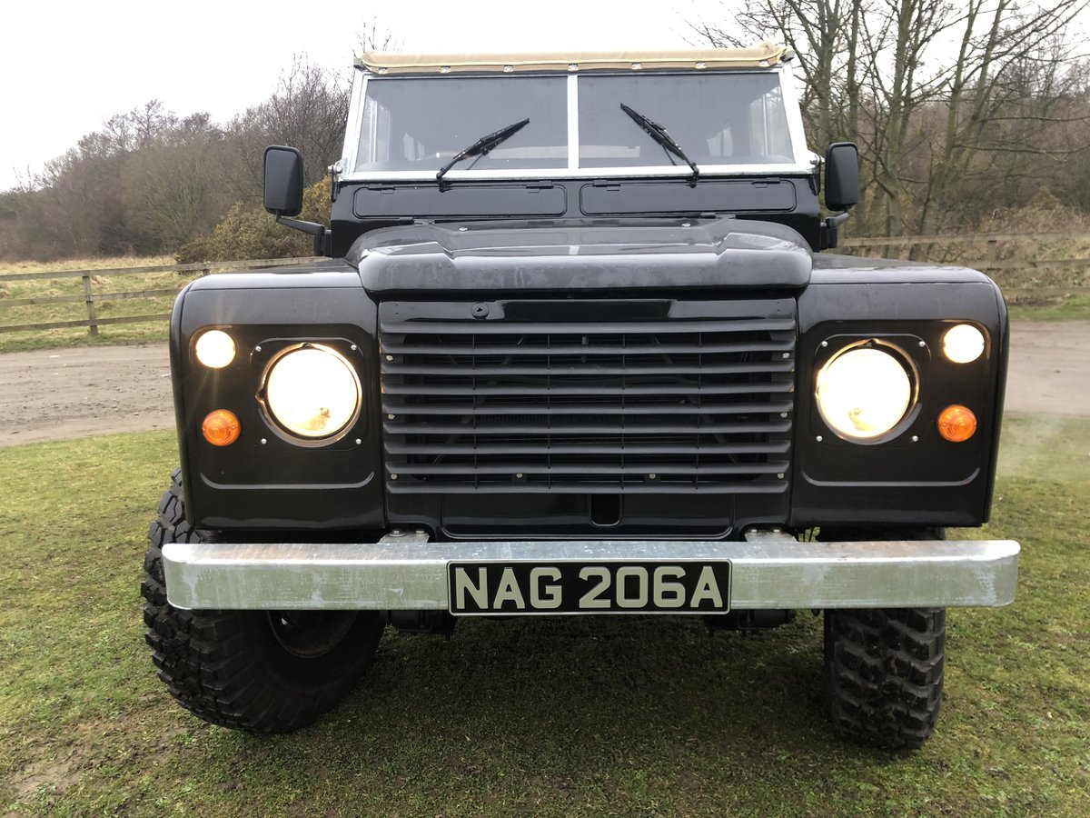1962 Land Rover Series 2a-V8-5 speed-soft top-Galvanised chassis For Sale (picture 4 of 10)