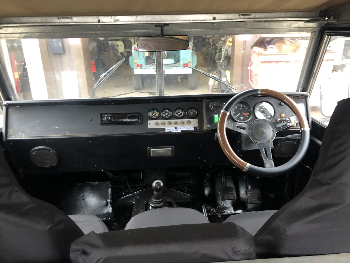 1962 Land Rover Series 2a-V8-5 speed-soft top-Galvanised chassis For Sale (picture 7 of 10)