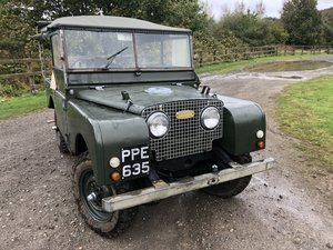 Picture of 1951 Land rover Series 1, Soft top, 80 For Sale