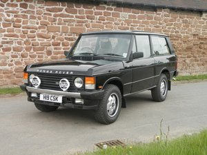 Picture of 1991 RANGE ROVER 'CSK' Estimate: £30,000 - £35,000 For Sale by Auction