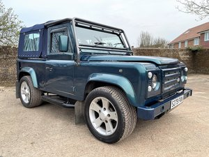 Picture of 1998 DEFENDER 90 50TH ANNIVERSARY 4.6V8 AUTO SOFT TOP For Sale