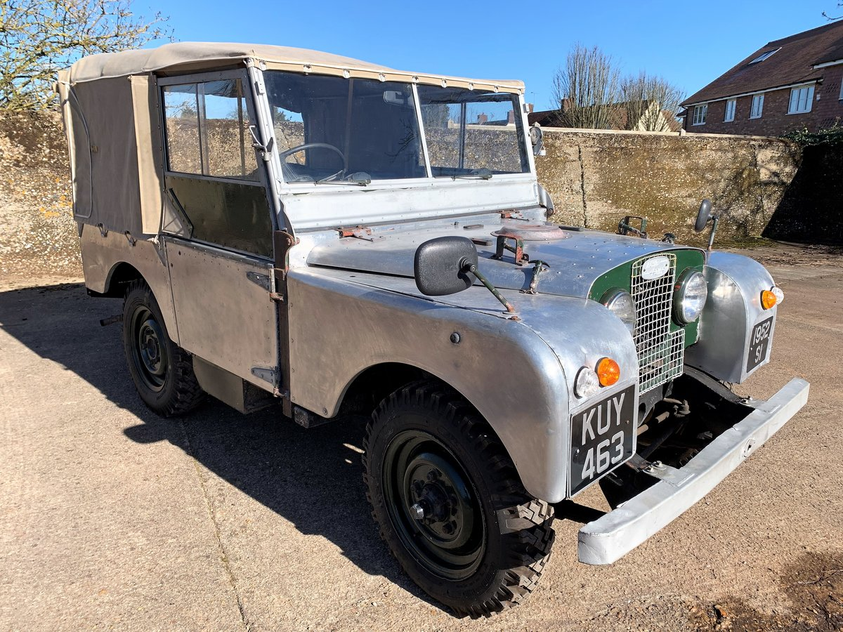 1952 Series One 80in soft top +alloy bulkhead For Sale (picture 2 of 20)