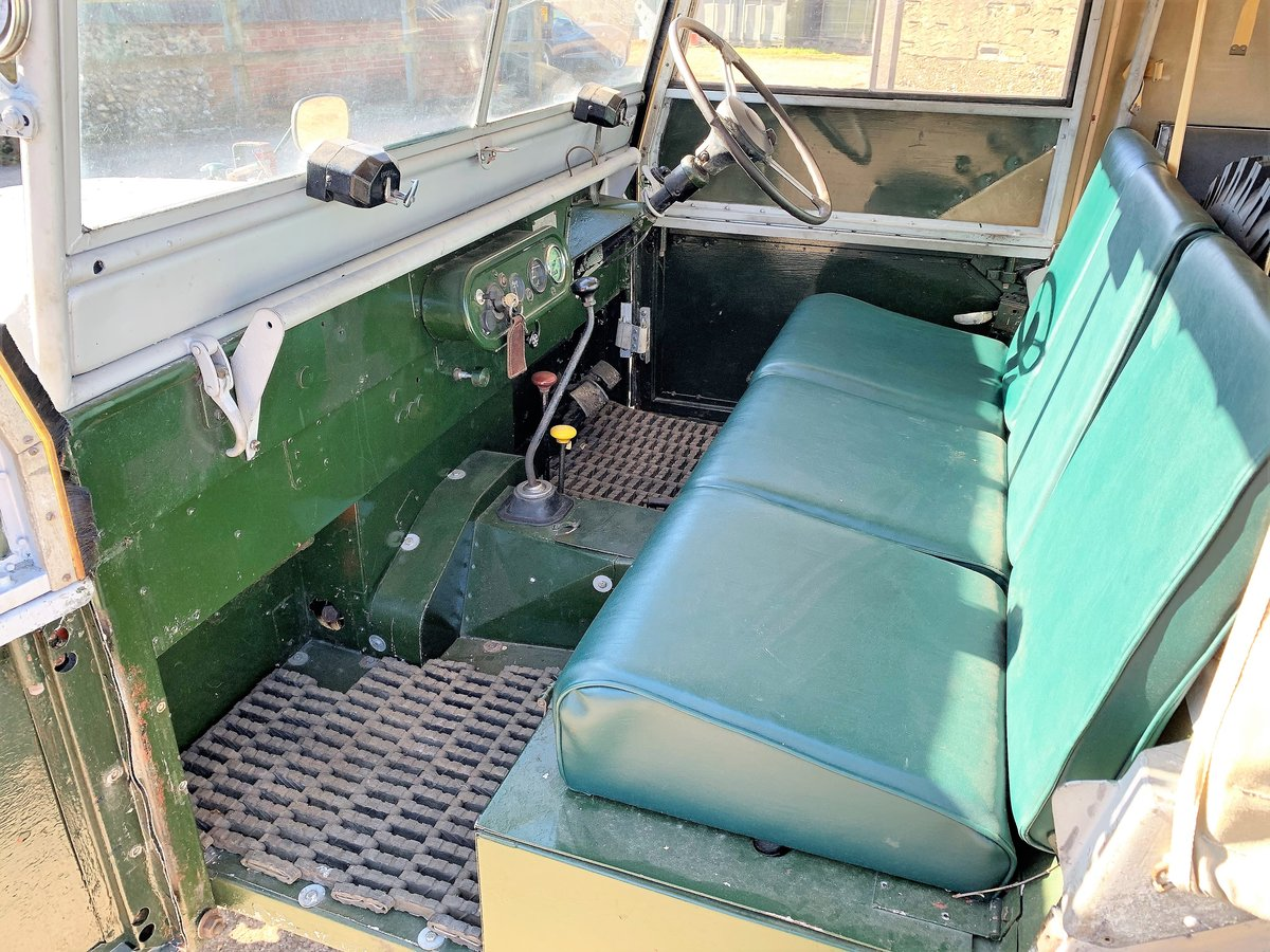 1952 Series One 80in soft top +alloy bulkhead For Sale (picture 4 of 20)