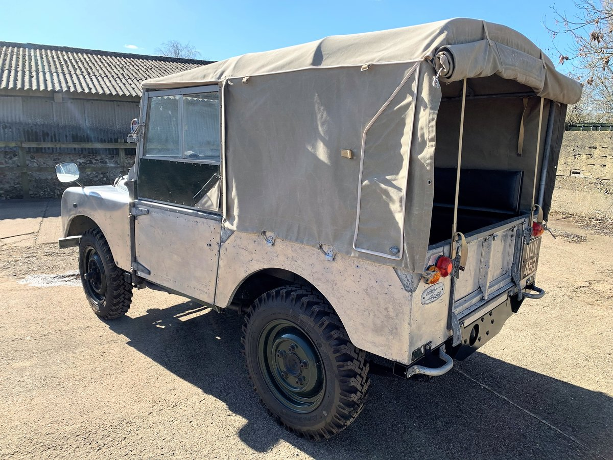 1952 Series One 80in soft top +alloy bulkhead For Sale (picture 5 of 20)