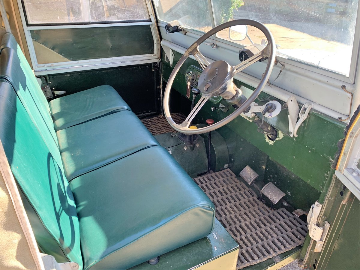 1952 Series One 80in soft top +alloy bulkhead For Sale (picture 7 of 20)