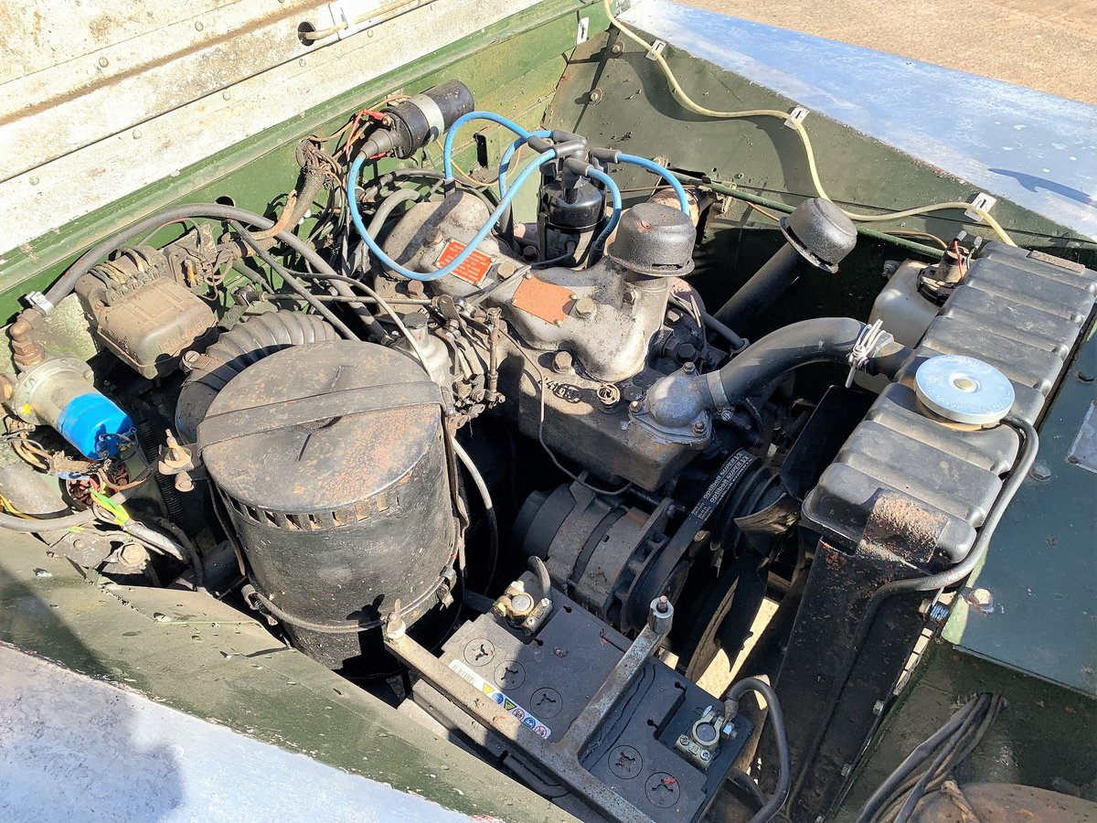 1952 Series One 80in soft top +alloy bulkhead For Sale (picture 8 of 20)