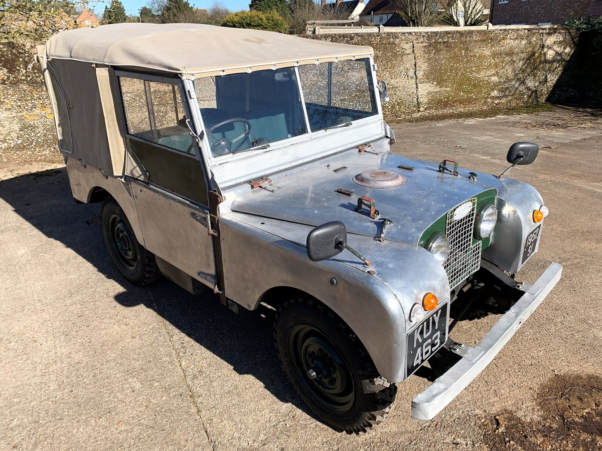 1952 Series One 80in soft top +alloy bulkhead For Sale (picture 10 of 20)