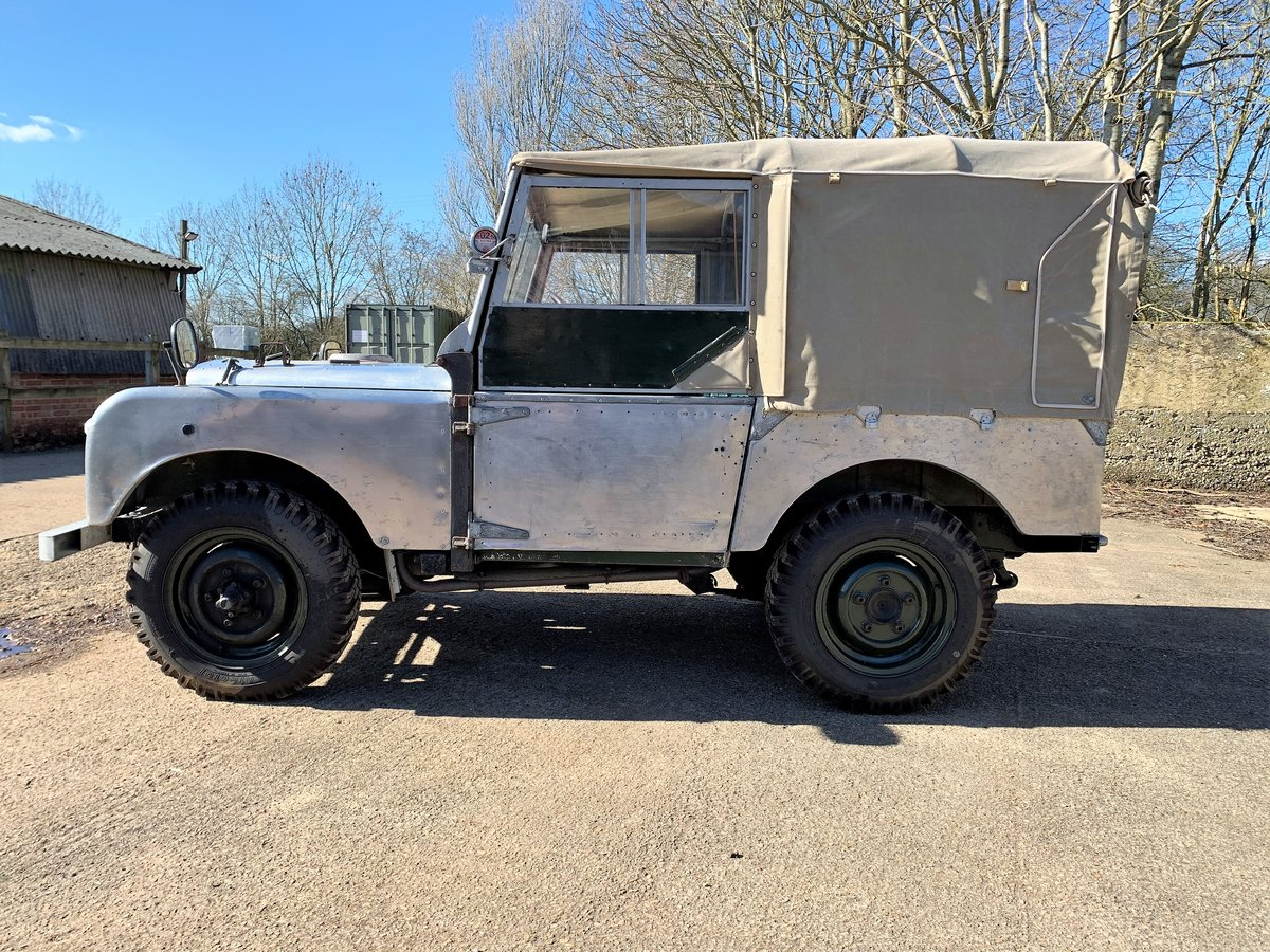 1952 Series One 80in soft top +alloy bulkhead For Sale (picture 12 of 20)