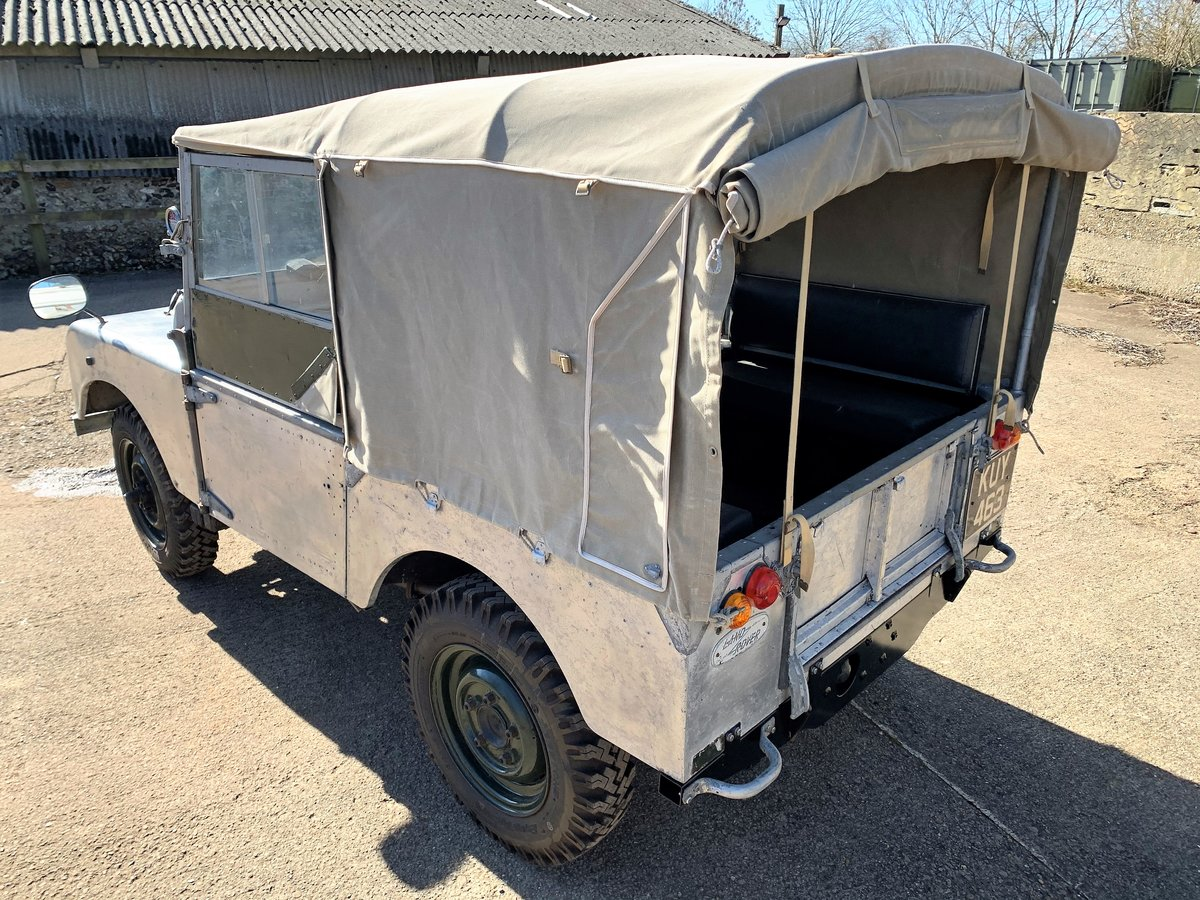 1952 Series One 80in soft top +alloy bulkhead For Sale (picture 13 of 20)