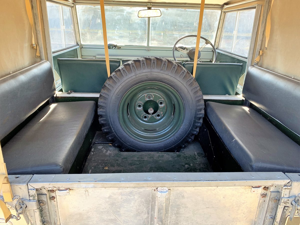 1952 Series One 80in soft top +alloy bulkhead For Sale (picture 15 of 20)