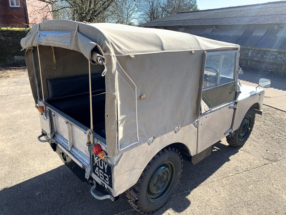 1952 Series One 80in soft top +alloy bulkhead For Sale (picture 17 of 20)