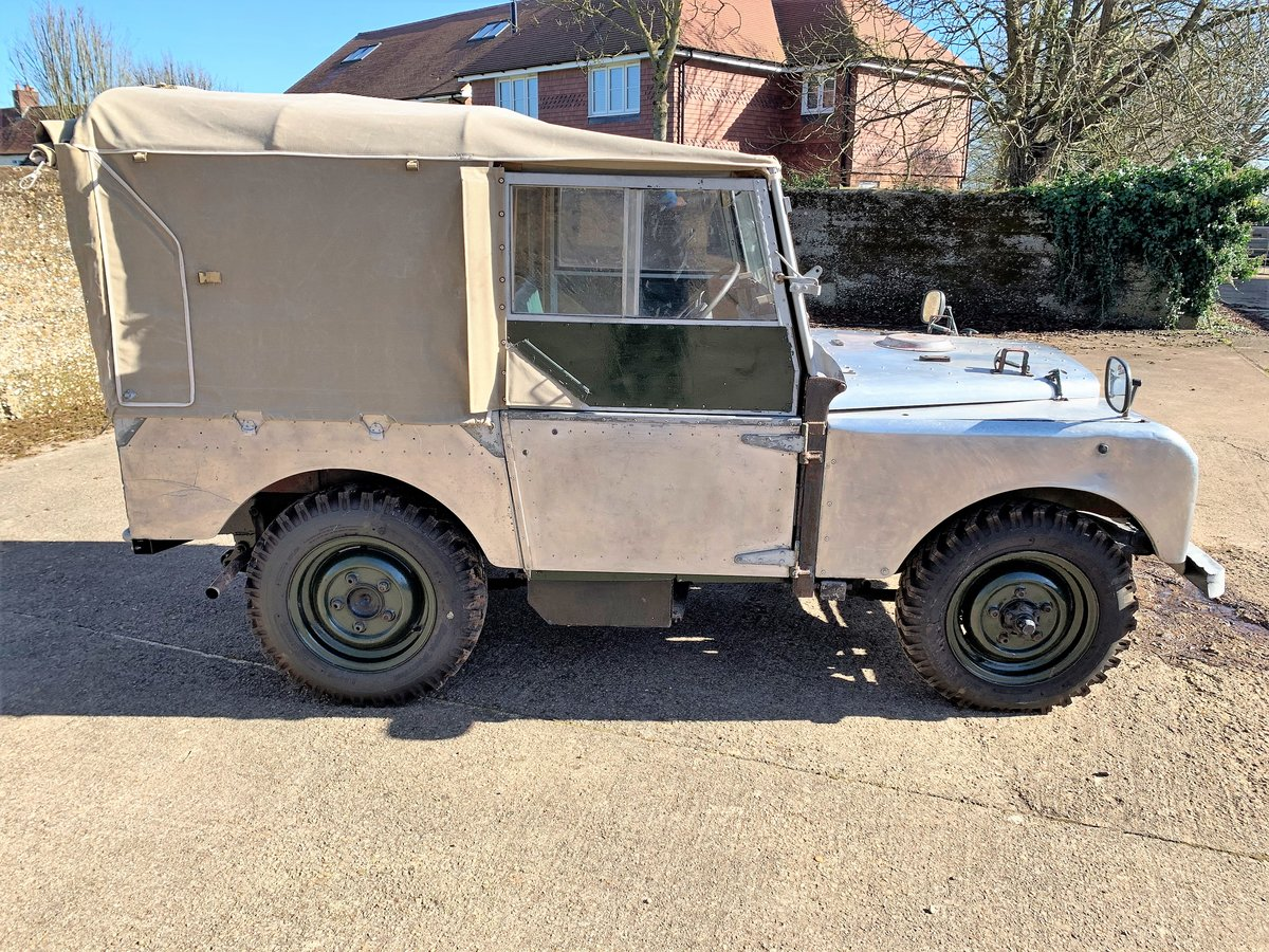 1952 Series One 80in soft top +alloy bulkhead For Sale (picture 18 of 20)