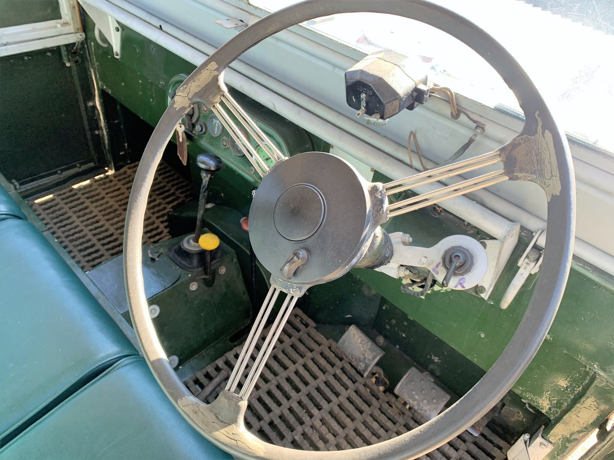 1952 Series One 80in soft top +alloy bulkhead For Sale (picture 20 of 20)