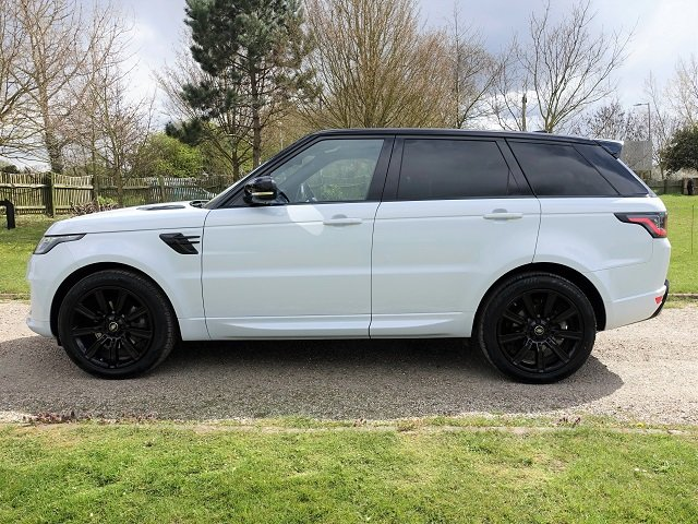 2018/18 Range Rover Spt HSE Dynamic Blk Exterior Pack SDV6 For Sale (picture 4 of 12)
