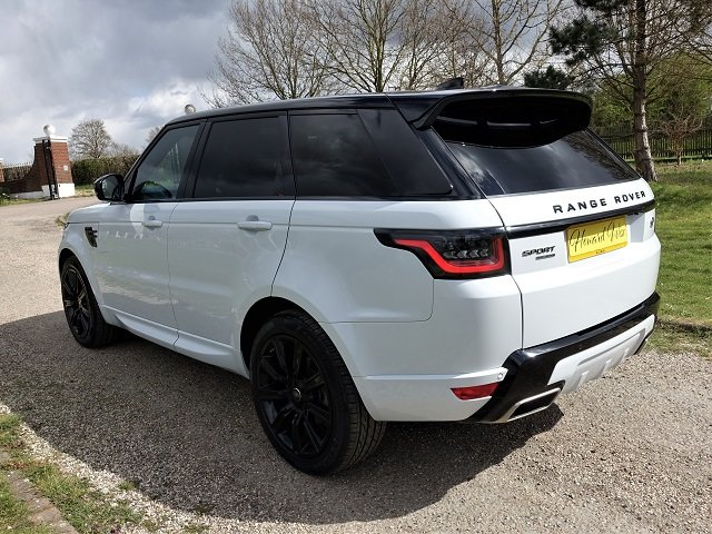 2018/18 Range Rover Spt HSE Dynamic Blk Exterior Pack SDV6 For Sale (picture 5 of 12)
