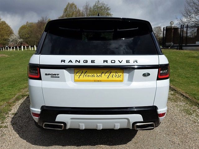 2018/18 Range Rover Spt HSE Dynamic Blk Exterior Pack SDV6 For Sale (picture 6 of 12)