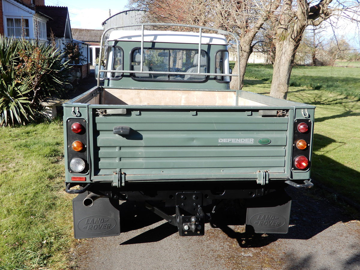 2007 Land Rover Defender 110 Hi-Capacity For Sale (picture 4 of 8)