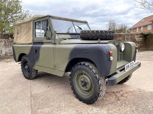 Picture of 1963 Land Rover Series IIa ex-military 2.25 petrol soft top For Sale