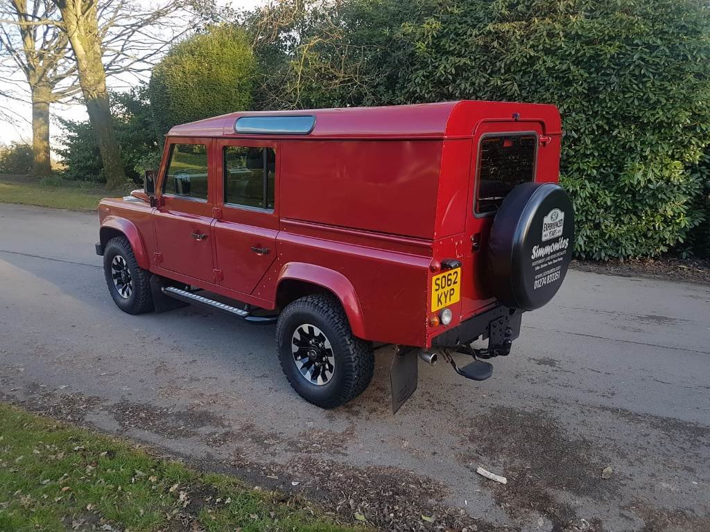 2012 LAND ROVER DEFENDER TDCI COUNTY UTILITY For Sale (picture 2 of 12)