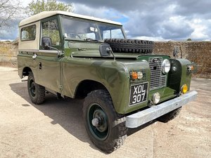 Picture of 1961 land rover Series IIa 88in diesel hardtop For Sale