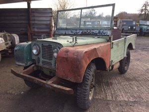 Picture of 1950 Land Rover Series 1 80 inch For Restoration For Sale