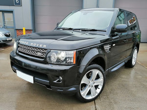 Picture of LAND ROVER RANGE ROVER SPORT 2013 3.0 SDV6 HSE BLACK For Sale