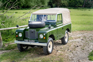 Picture of Land Rover Series 2a 88 1970 Soft Top Nut & Bolt Restoration For Sale