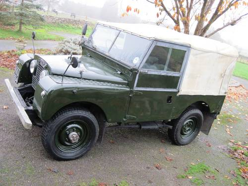 1955 Ultimate Land Rover Series1 86 2 0td Diesel Sold Car And Classic