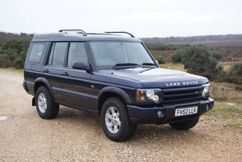 2002 Land Rover Discovery For Hire (picture 1 of 6)