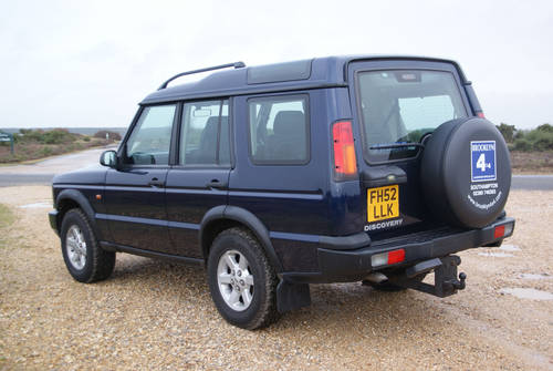 2002 Land Rover Discovery For Hire (picture 2 of 6)