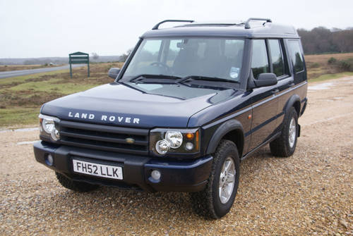 2002 Land Rover Discovery For Hire (picture 3 of 6)
