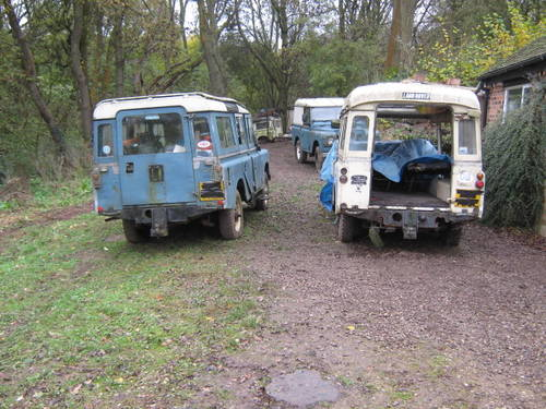 1973 land rover series 111 dormobile camper SOLD (picture 1 of 6)