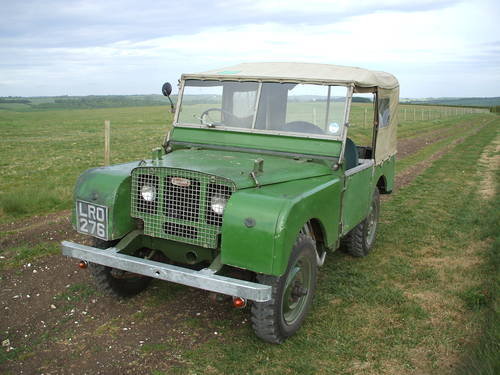 1948 LAND ROVER SERIES 1 ONE & 2 II ANY CONDITION! Wanted (picture 1 of 4)