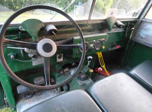 "1952 Land Rover 80"" Series 1 LHD For Sale (picture 2 of 6)"