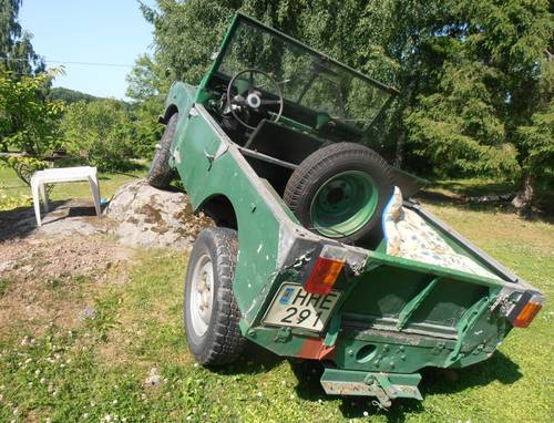 "1952 Land Rover 80"" Series 1 LHD For Sale (picture 3 of 6)"