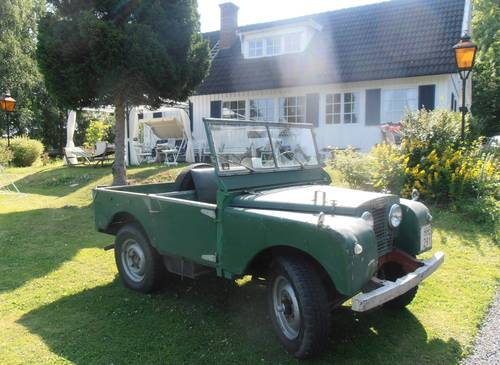 "1952 Land Rover 80"" Series 1 LHD For Sale (picture 4 of 6)"