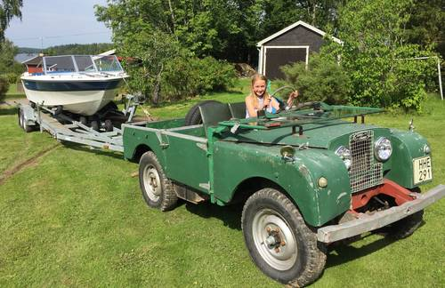 "1952 Land Rover 80"" Series 1 LHD For Sale (picture 5 of 6)"