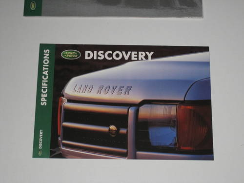 1998 Landrover Discovery Brochure For Sale (picture 4 of 4)