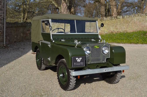 1951 Land Rover Series 1 80 Wanted (picture 1 of 6)