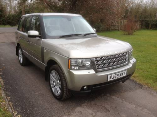 2010 Range Rover Vouge TDV8 Auto SOLD (picture 1 of 6)